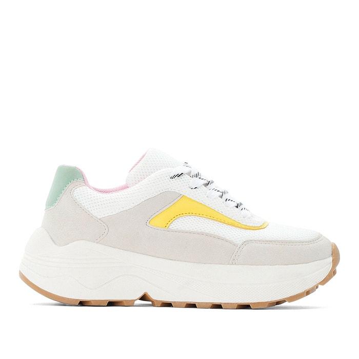 Sneakers mit schnürung, gr. 26 39 pastelfarben La Redoute