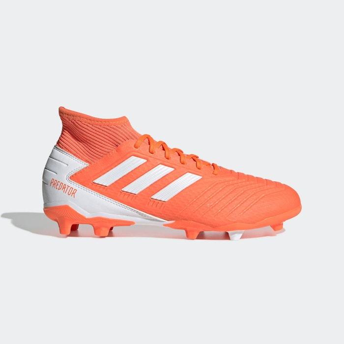 Baskets predator 19.3 terrain souple orange Adidas