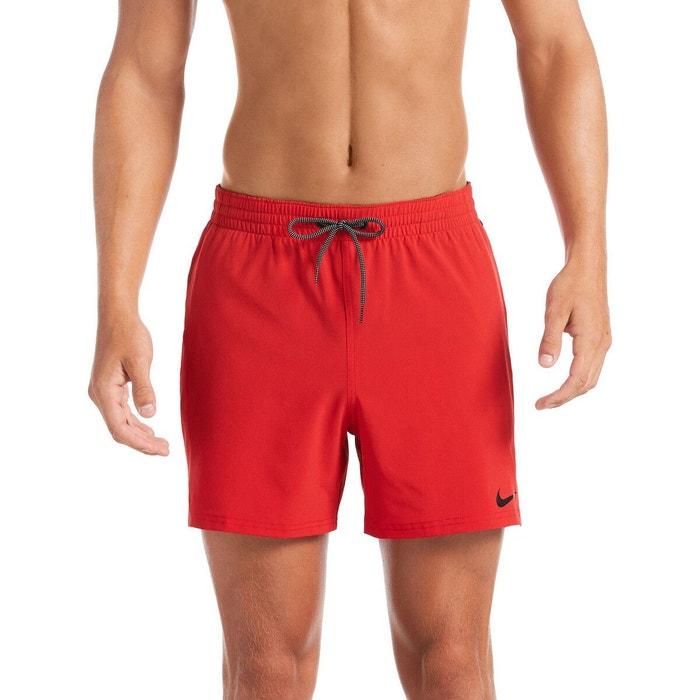 Short de bain rouge Nike   La Redoute