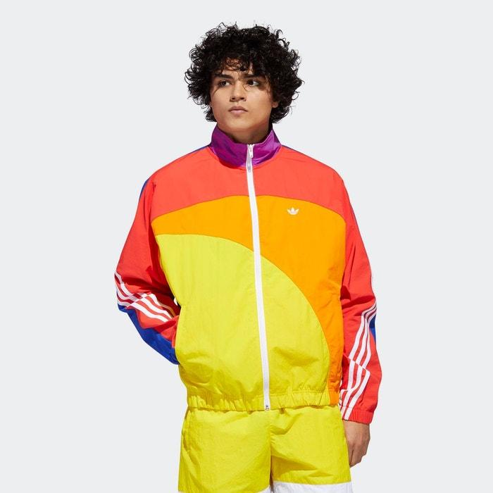 Veste pride off centre multicolore Adidas Originals | La Redoute