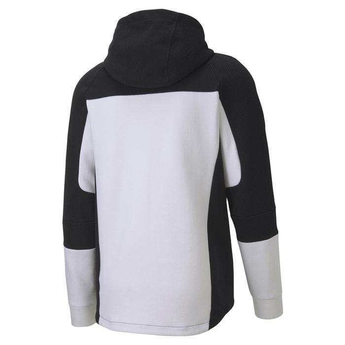CARE OF by PUMA Mens Fleece Zip Through Hoodie