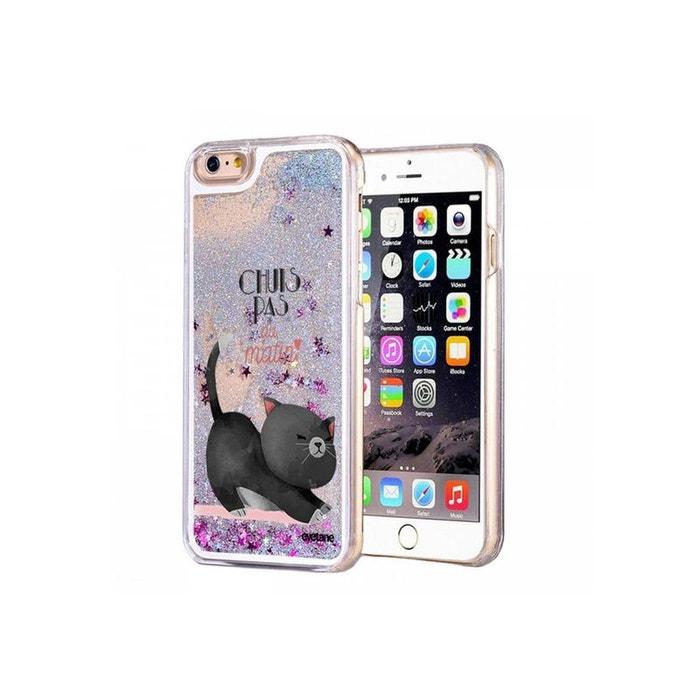 coque iphone 6 paillette gris