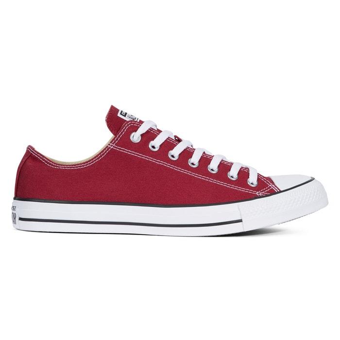 chaussure converse bordeaux
