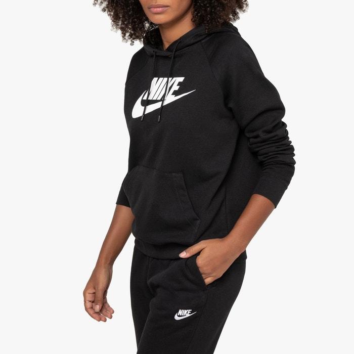 Nike Doudoune longue avec petit logo Noir