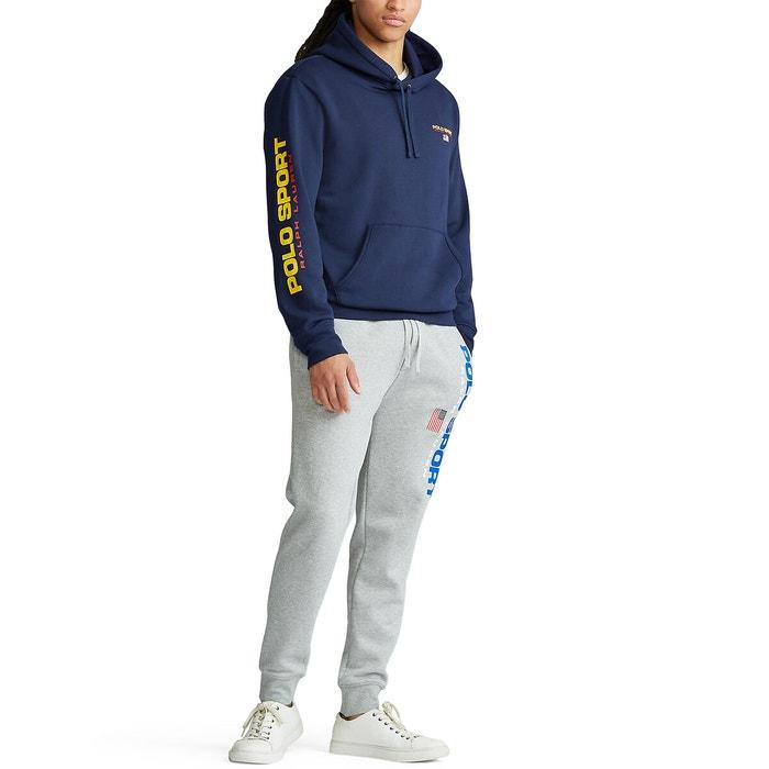 Sweat à capuche polo sport Polo Ralph Lauren bleu marine