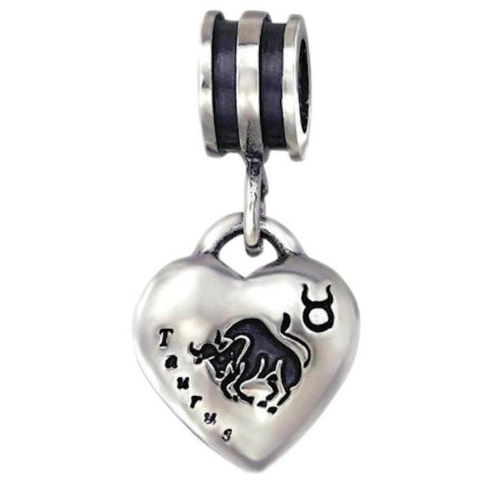 charm pandora zodiaque taureau
