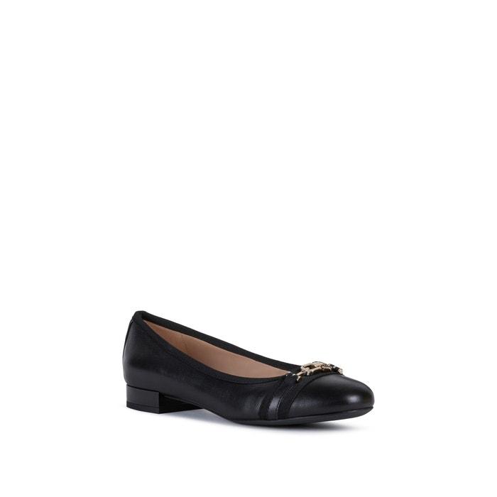 Wistrey leather ballet pumps black Geox