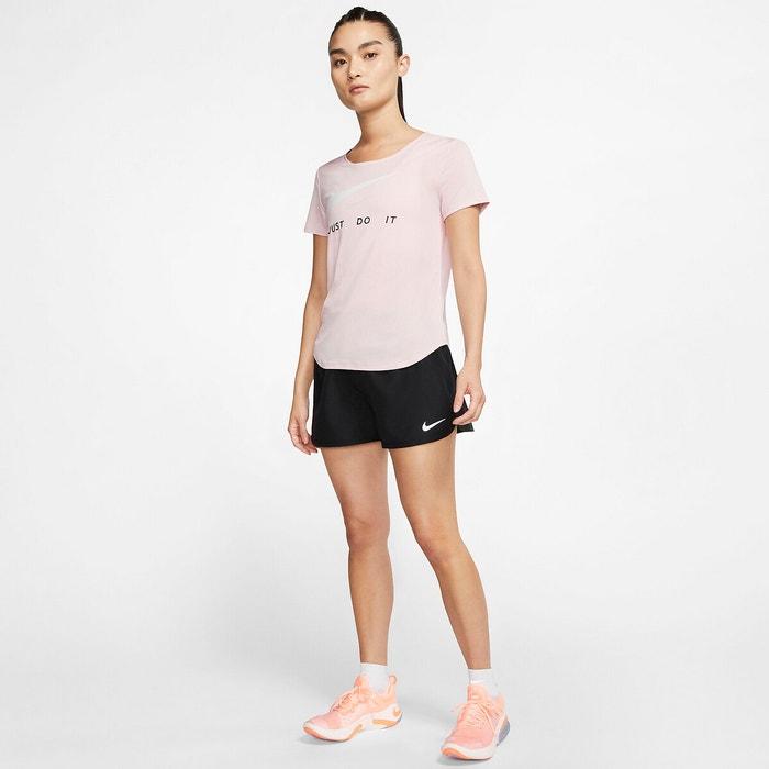 T shirt running rose clair Nike | La Redoute