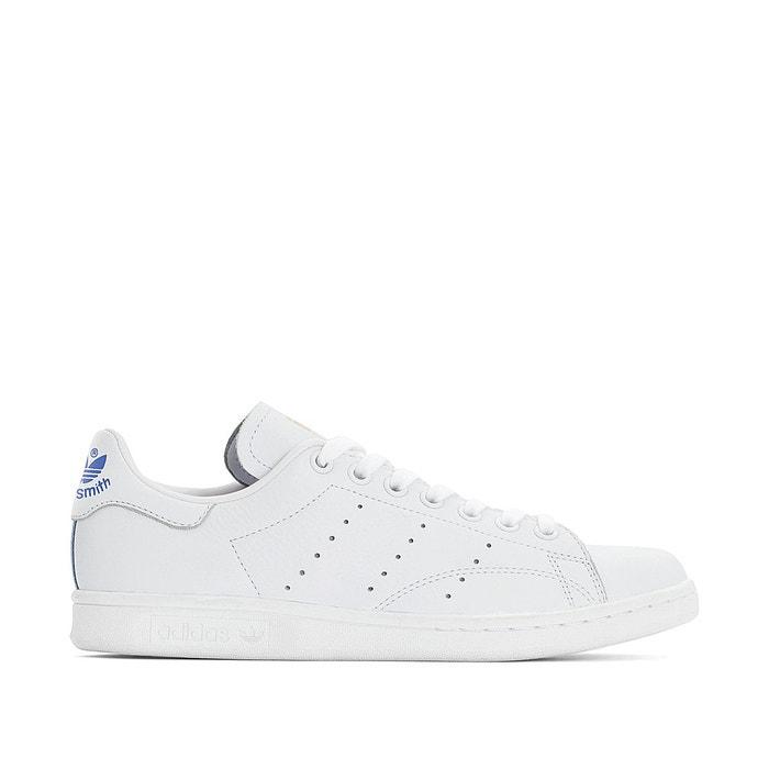 Adidas Stan Smith Blanche Et Suede Bleu BasketsTennis Femme Comparer avec