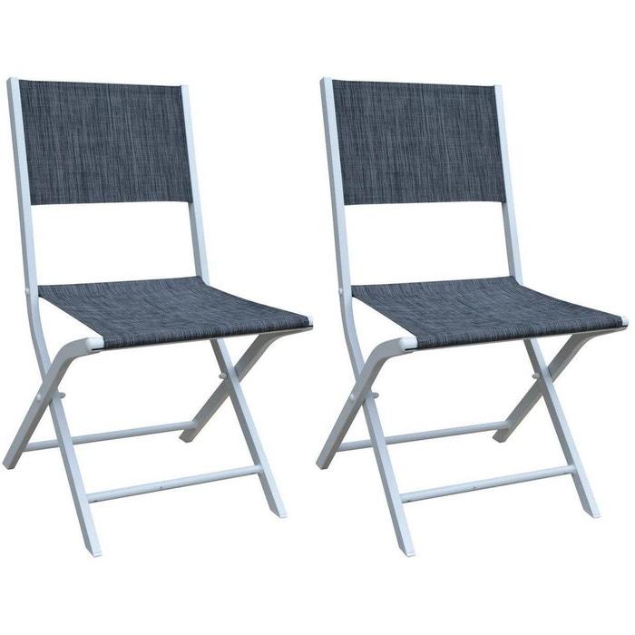 Chaise pliante Modulo (Lot de 2)
