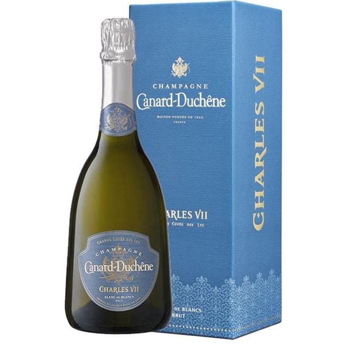 Kết quả hình ảnh cho champagne canard duchene CHARLES VII BLANC DE BLANC