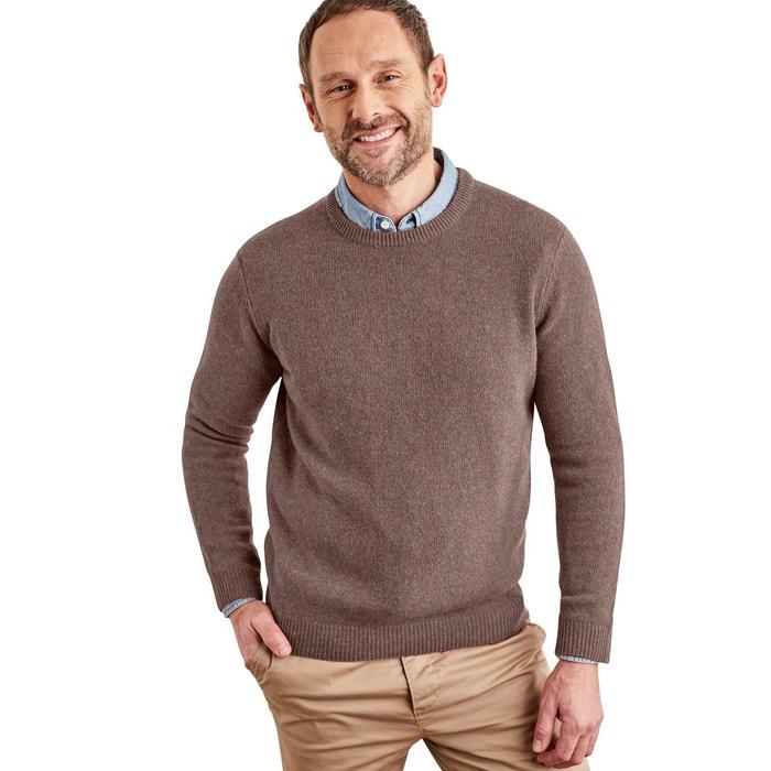 Pull à col rond en pure laine Woolovers | La Redoute