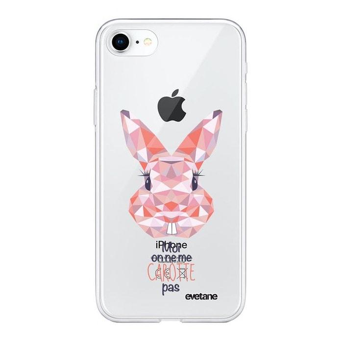 coque iphone 7 silicone lapin