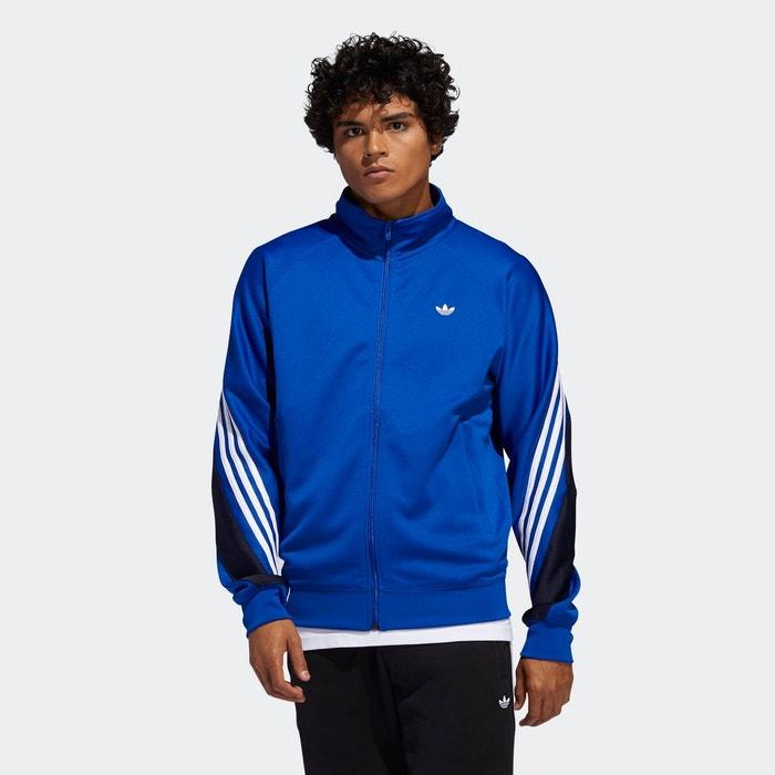 Veste de survêtement 3 stripes wrap bleu Adidas Originals