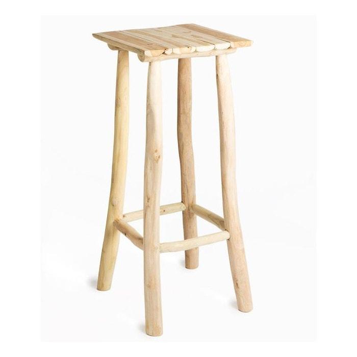 Selette Table D Appoint En Teck Naturel Hauteur 90cm