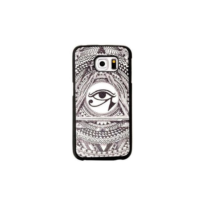 Coque pour Samsung Galaxy S6 Edge motif Oeil Oudjat