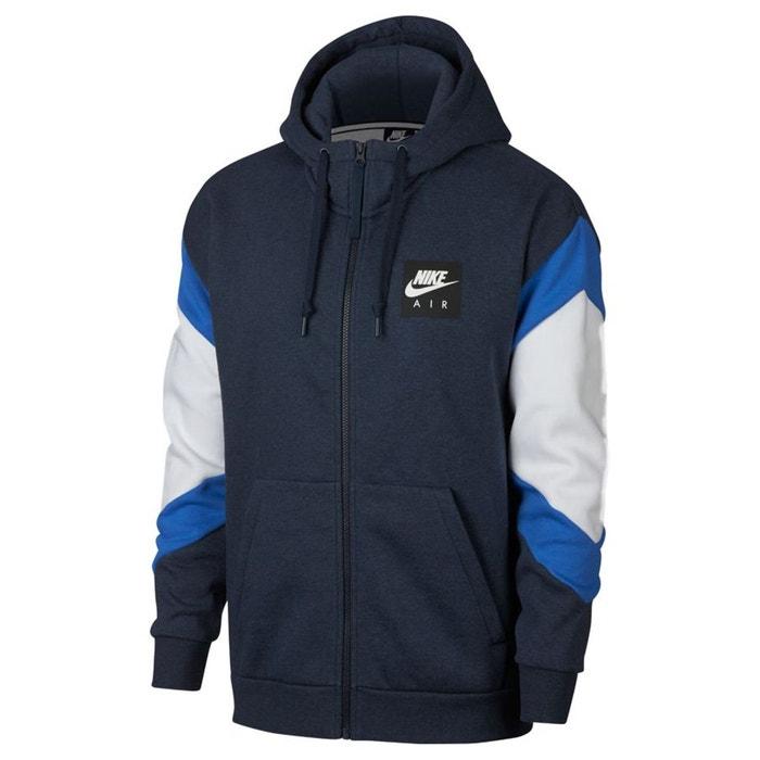 Sweat à capuche heritage bleu marine Nike | La Redoute