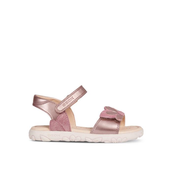J haiti girl 2 sandals pink Geox | La Redoute