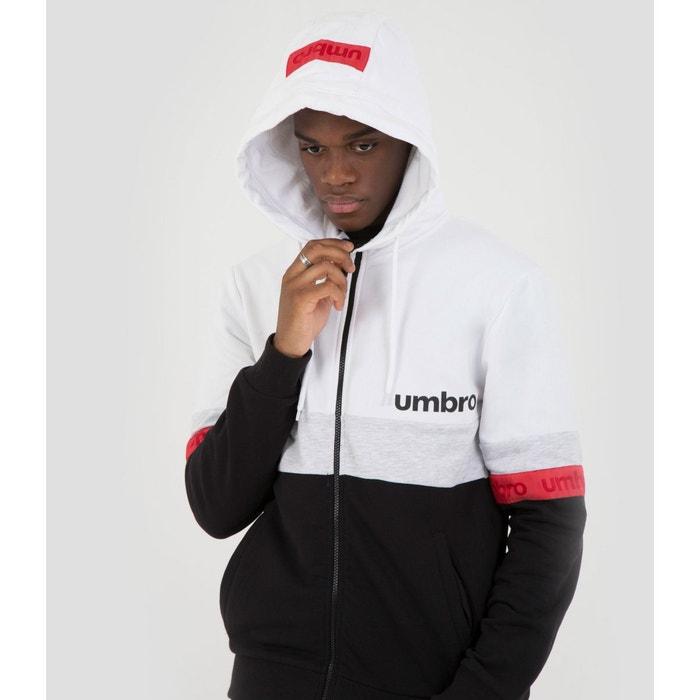 Sweat coton homme veste a capuche zippee authentic Umbro