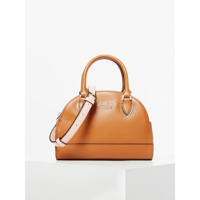 sac a main avec bandoulière camel de guess