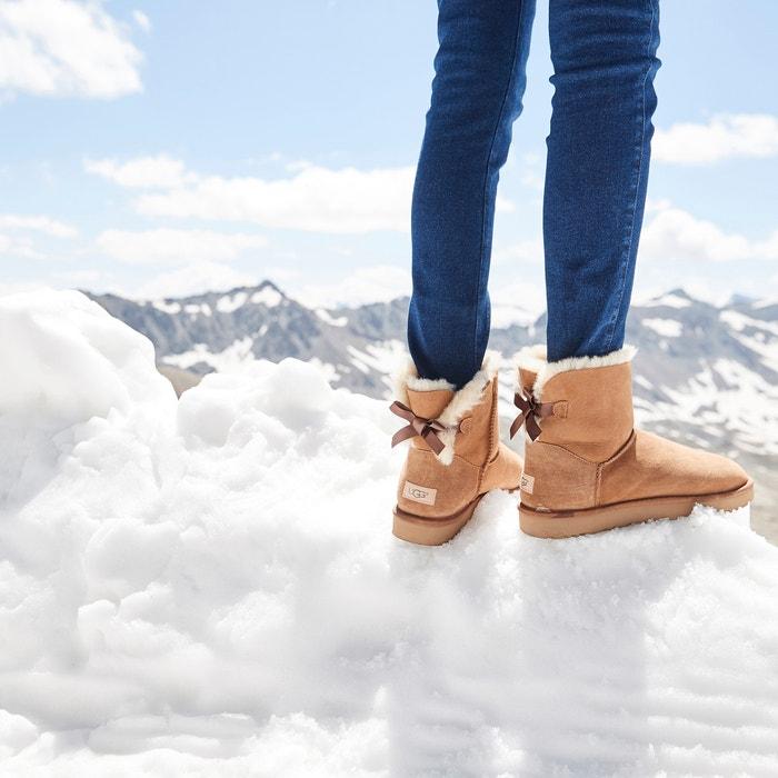 Gefutterte Boots Mini Bailey Bow Ii Ugg La Redoute