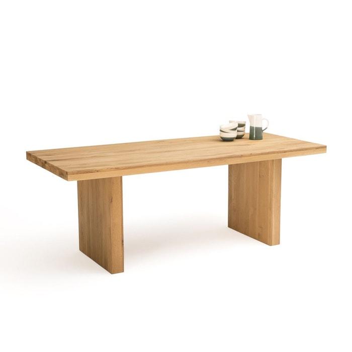 Table à manger 68 couverts chêne massif, vova chêne La