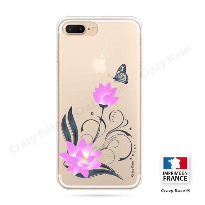 coque iphone 6 fleurs lotus