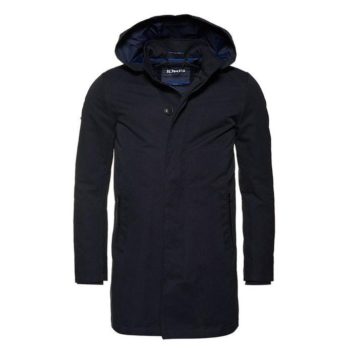 Trench coat idris borough bleu marine profond Superdry | La