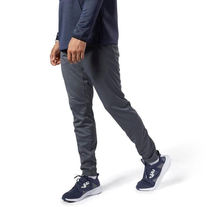 Pantalon de survêtement en maille speedwick gris Reebok