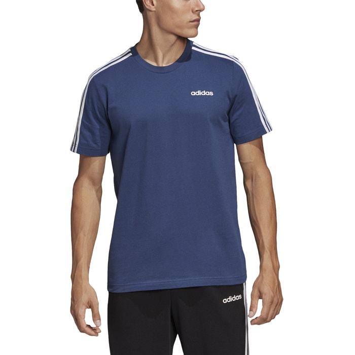 adidas 3 streifen shirt blau