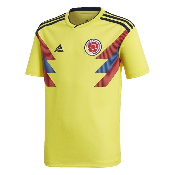 Maillot colombie domicile jaune Adidas Performance | La Redoute
