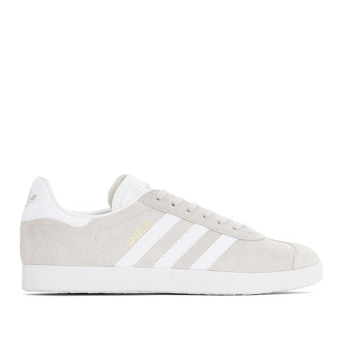 meilleur site web 29749 7ec51 Baskets cuir gazelle gris clair Adidas Originals | La Redoute