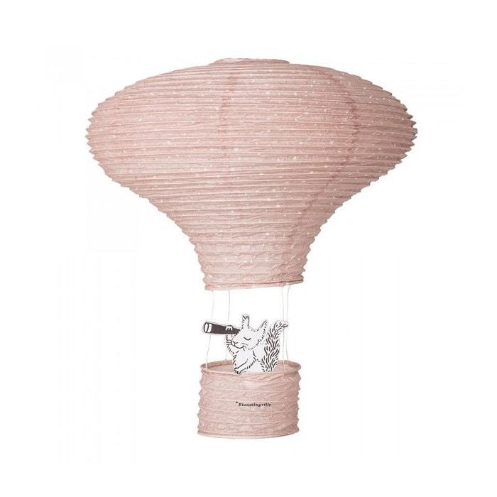 Abat Jour Suspension Lanterne Chambre Enfant En Papier Rose