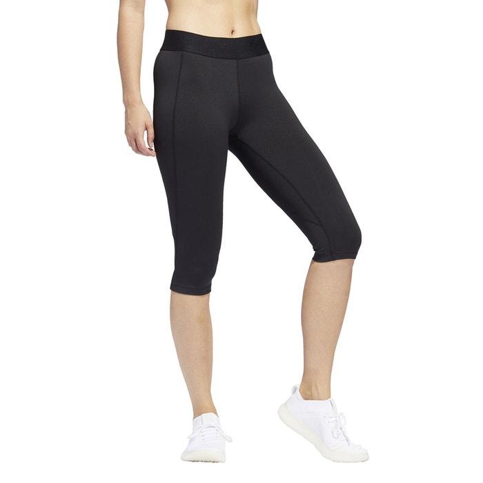Legging court training alphaskin noir Adidas Performance