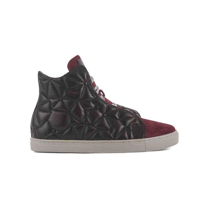 Baskets cuir baskets cristal 180 rouge Vo7 | La Redoute