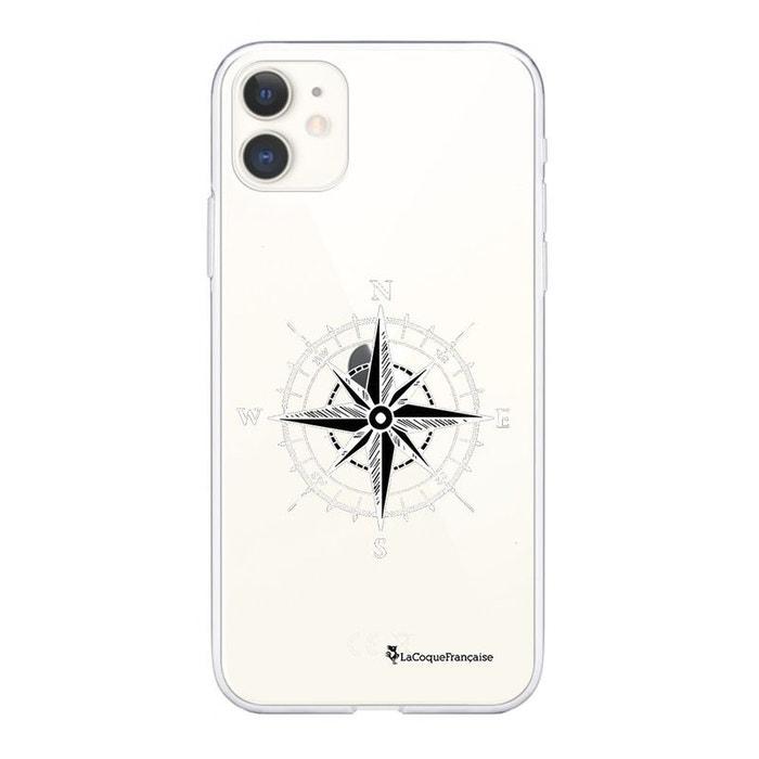 Coque iphone 11 360 intégrale avant arrière transparente boussole ...