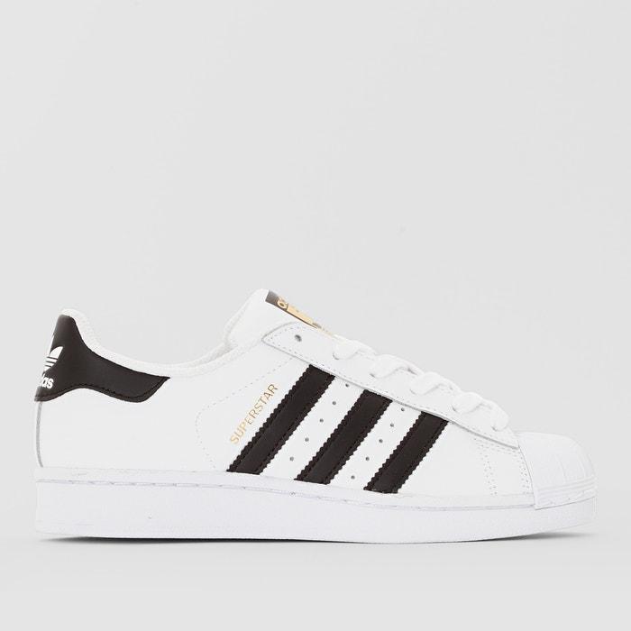 Sneakers superstar j witzwart Adidas Originals | La Redoute