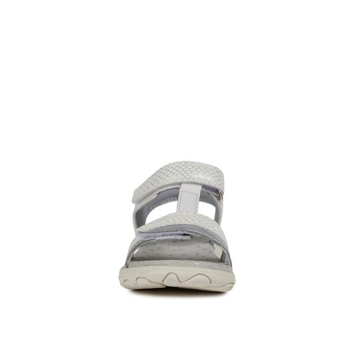Sandali traspiranti cuore biancoargento Geox | La Redoute
