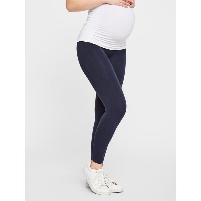 Leggings grossesse jersey bleu navy blazer Mama Licious | La