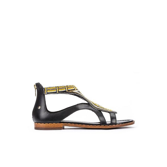 Sandales en cuir algar beige marron Pikolinos | La Redoute