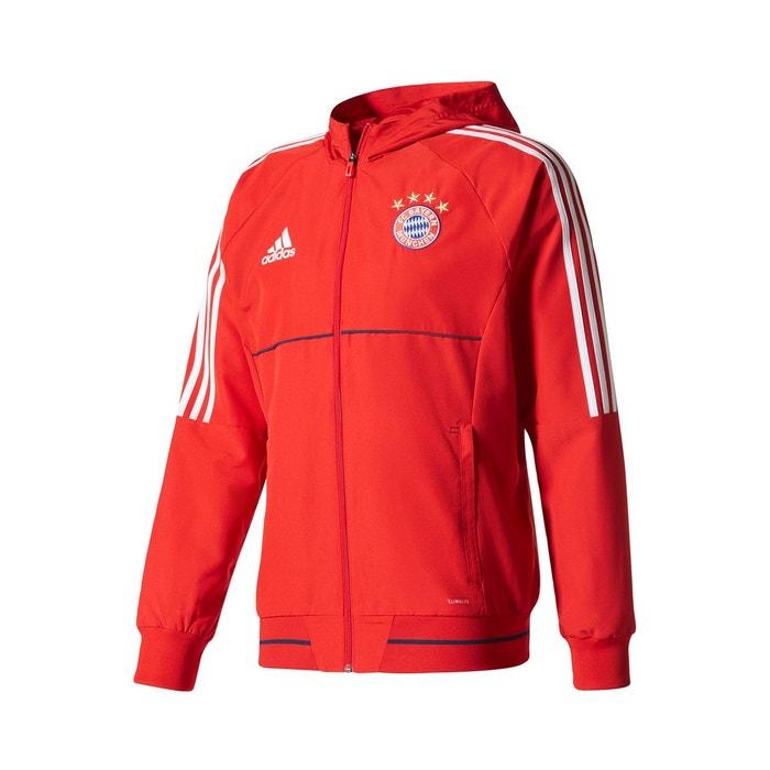 Veste de présentation fc bayern munich rouge Adidas