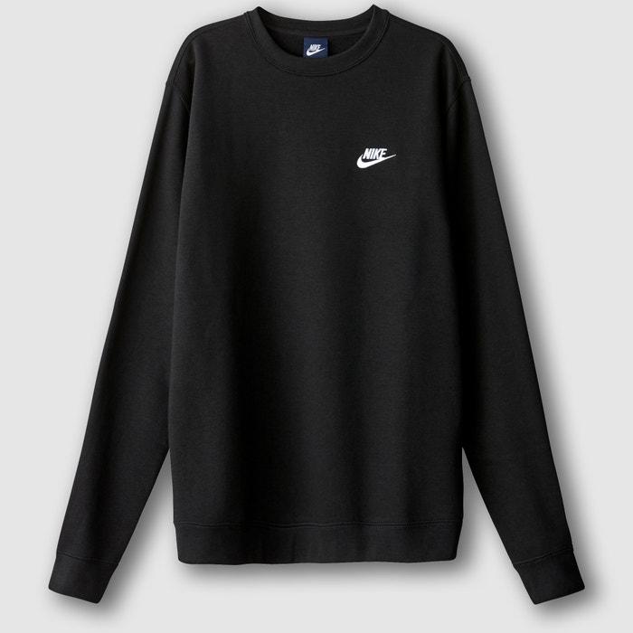 Sweat col rond noir Nike | La Redoute