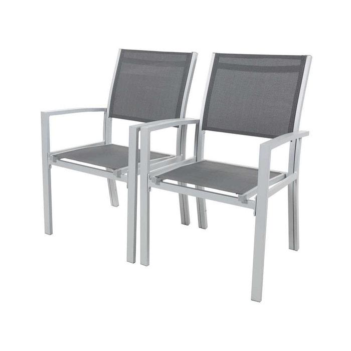 Chaise jardin alu textilène \