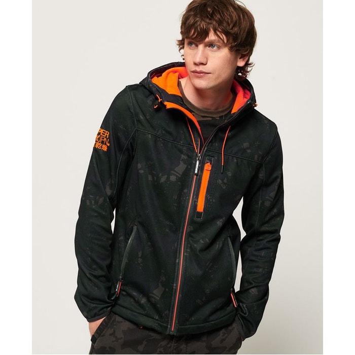 Vêtements homme Blousons Superdry Hooded Windtrekker Orange