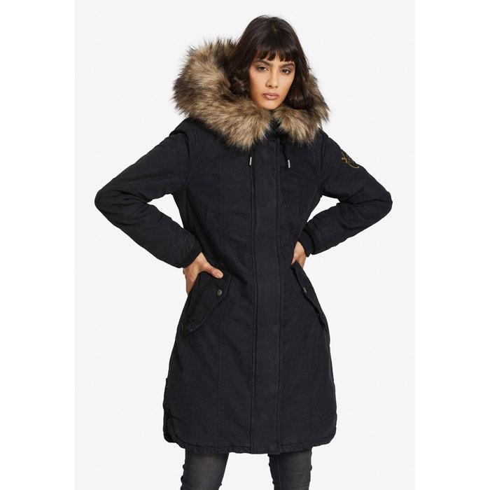 Manteau avec gilet amovible meryem2 solid Khujo   La Redoute
