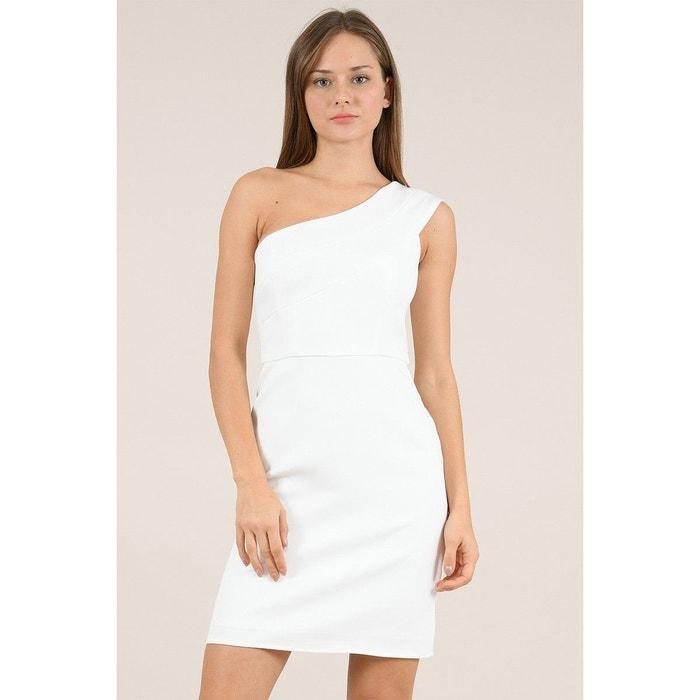 robe epaule asymétrique la redoute