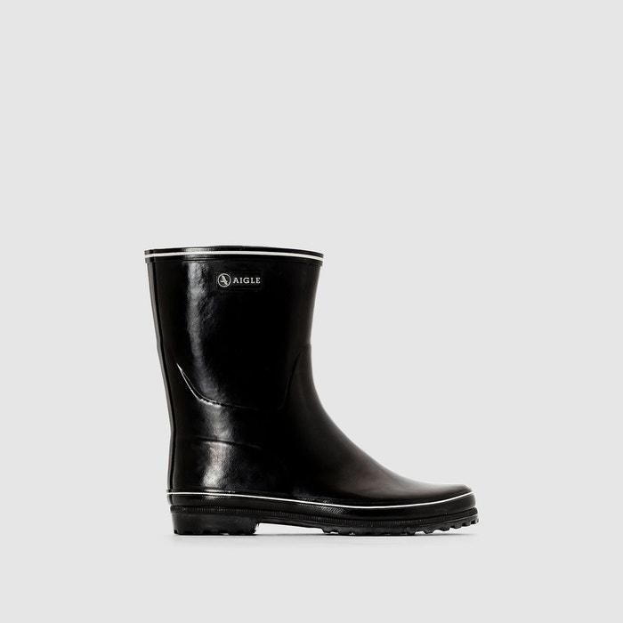 Bottes   Aigle Venise Noir Blanc Femme Chaussures 2018