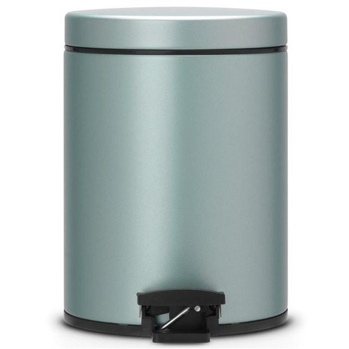 Brabantia Pedalette 3 Liter.Poubelle A Pedale Brabantia 5 L