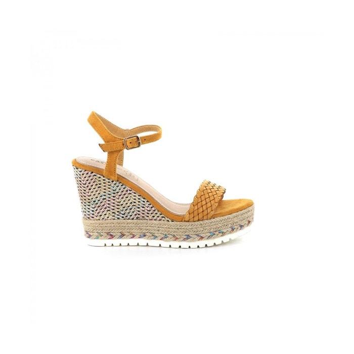 Sandale compensée imprimé cassandra Cassis Cote D'azur | La