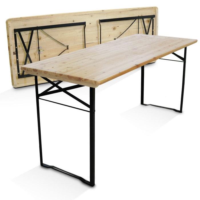 Tables de jardin Mobilier de jardin MobEventPro Table en ...